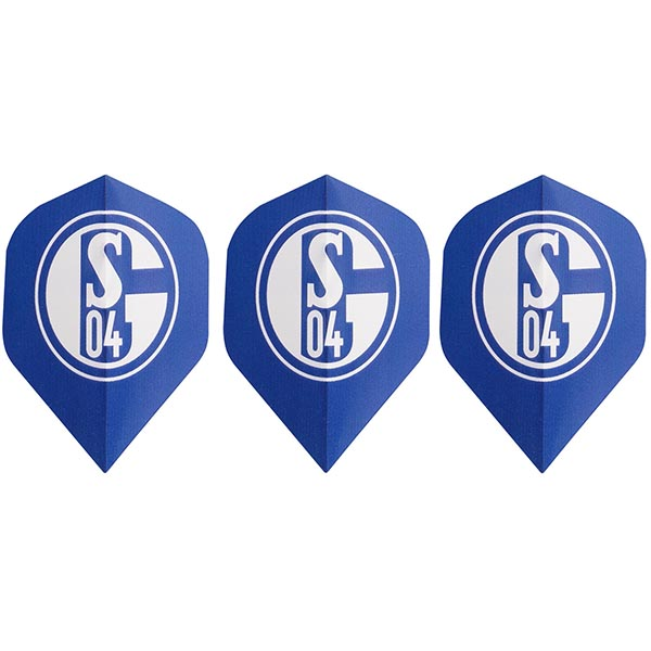 FC Schalke 04 Dart Flight Signet 3er-Set