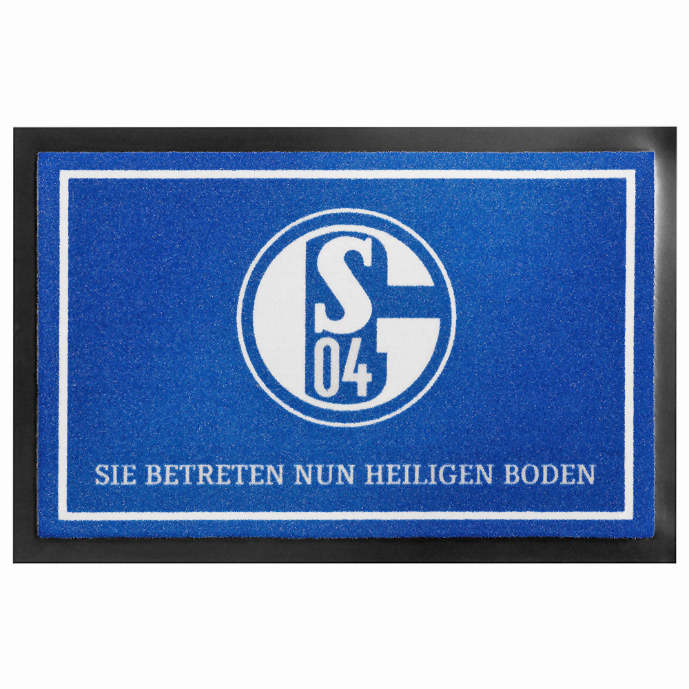 FC Schalke 04 Fussmatte Heiliger Boden