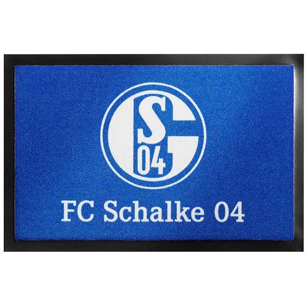 FC Schalke 04 Fussmatte Logo
