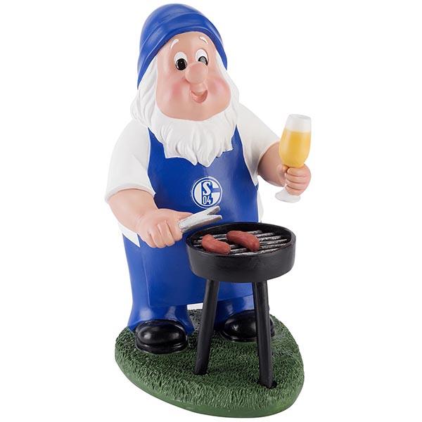 FC Schalke 04 Gartenzwerg Grill