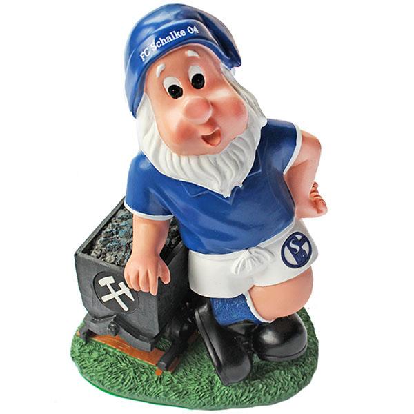 FC Schalke 04 Gartenzwerg Lore