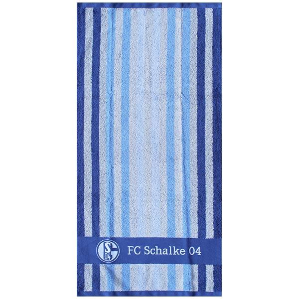 FC Schalke 04 Handtuch Multi Streifen