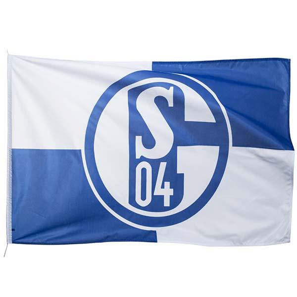 FC Schalke 04 Hissfahne Karo 150 x 100 cm