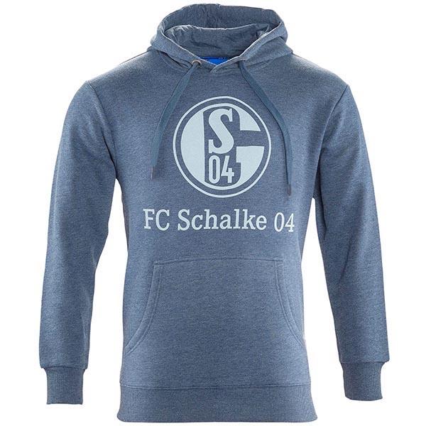 FC Schalke 04 Hoody Basic navy meliert