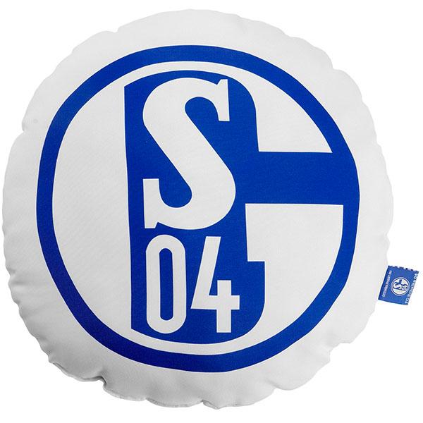 FC Schalke 04 Kissen Signet rund