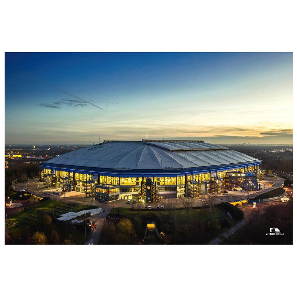 FC Schalke 04 Poster Veltins Arena