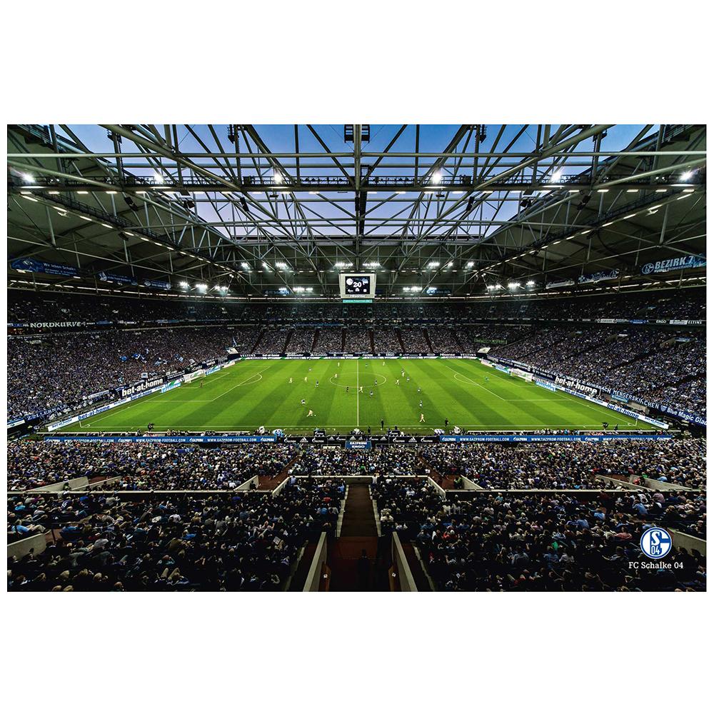 FC Schalke 04 Poster Veltins Arena Innenraum