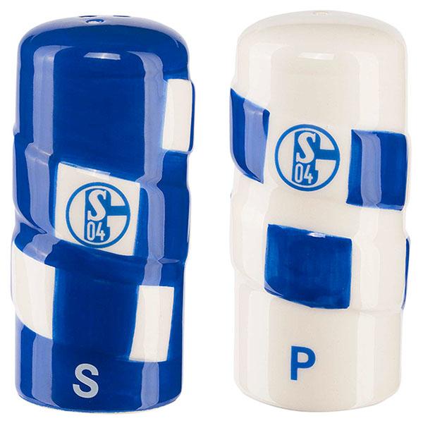 FC Schalke 04 Salzstreuer und Pfefferstreuer Set Schal