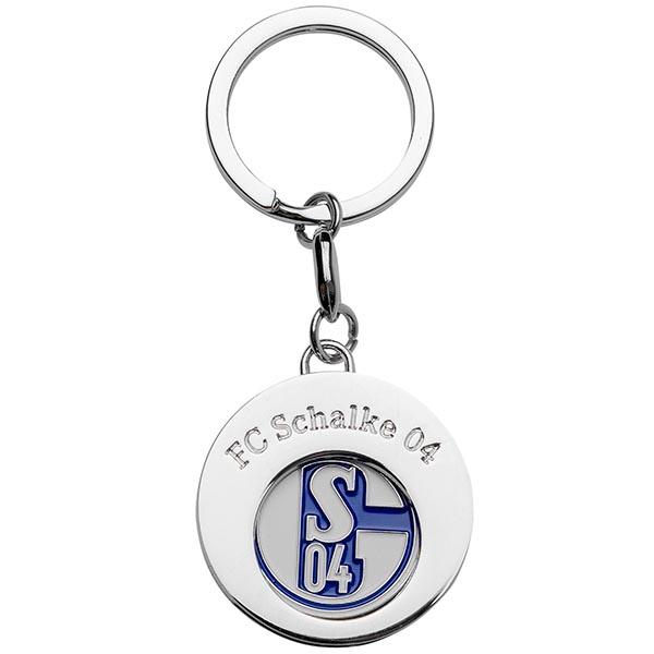 FC Schalke 04 Schlüsselanhänger Einkaufschip