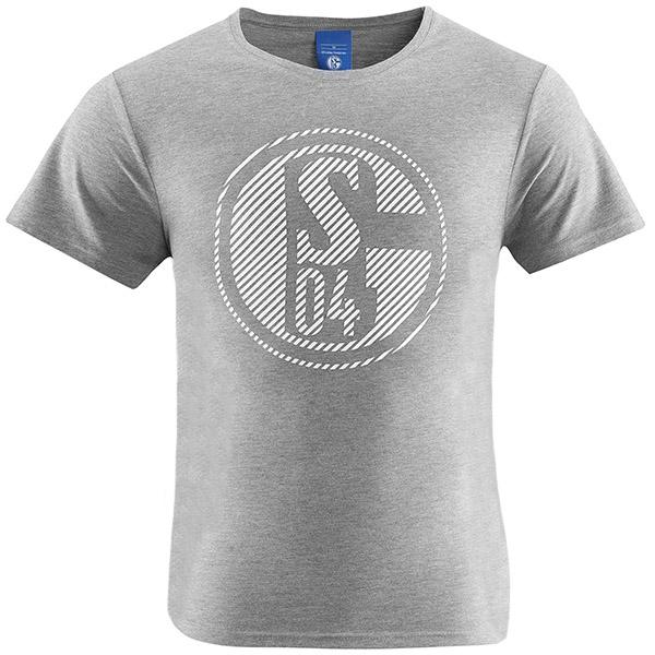 FC Schalke 04 T-Shirt Classic grau