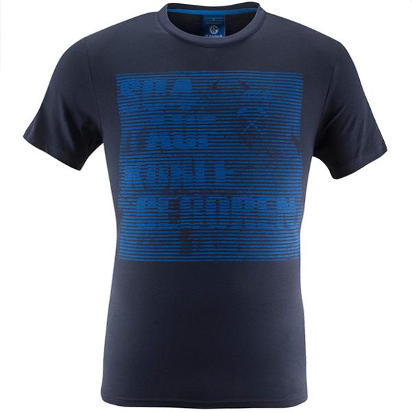 FC Schalke 04 T-Shirt Confused marine