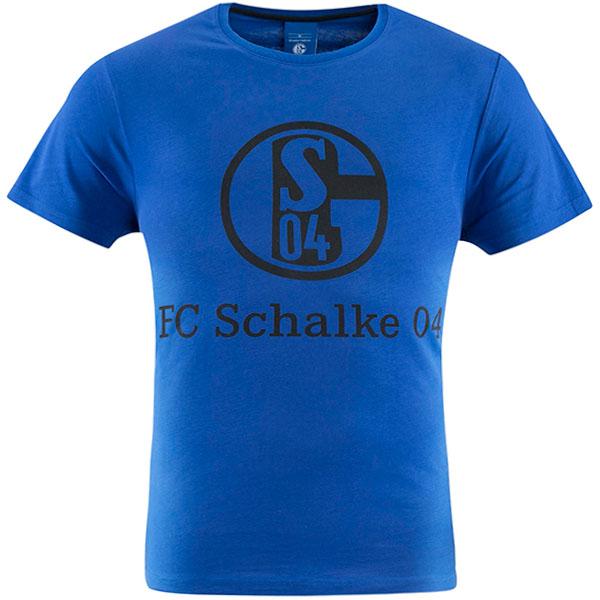 FC Schalke 04 T-Shirt Logo königsblau