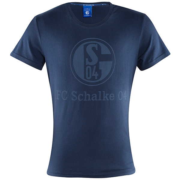 FC Schalke 04 T-Shirt Basic marine