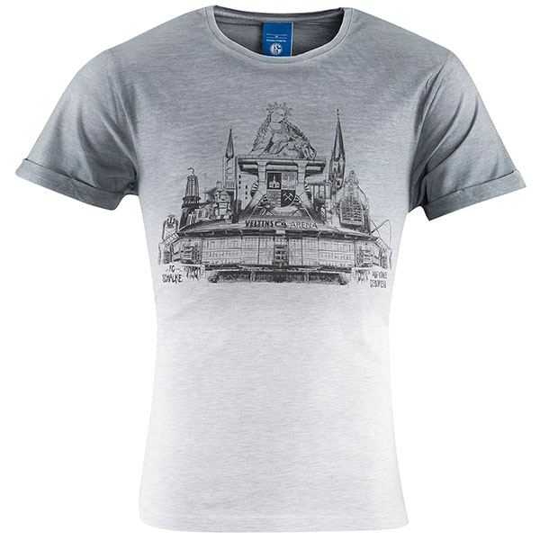 FC Schalke 04 T-Shirt Skyline