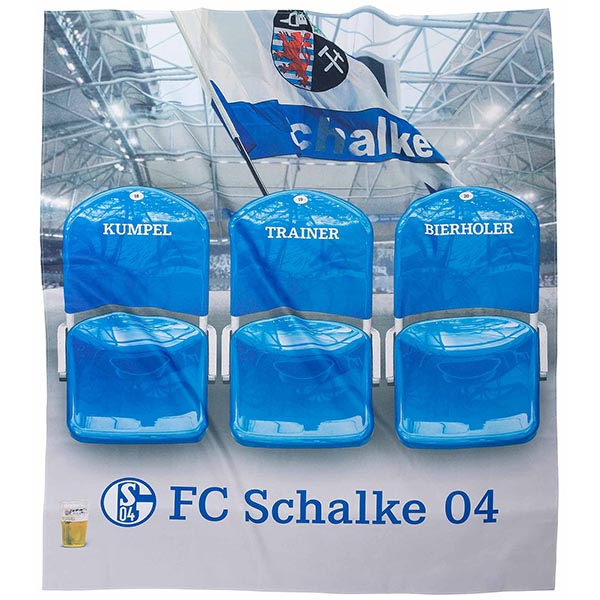 FC Schalke 04 Sofaüberwurf