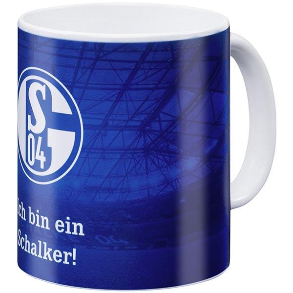FC Schalke 04 Tasse Ich bin ein Schalker blau