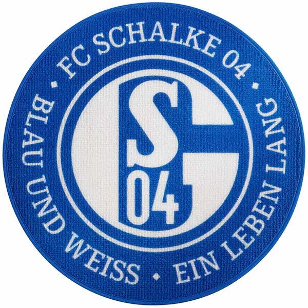 FC Schalke 04 Teppich Blau und Weiß
