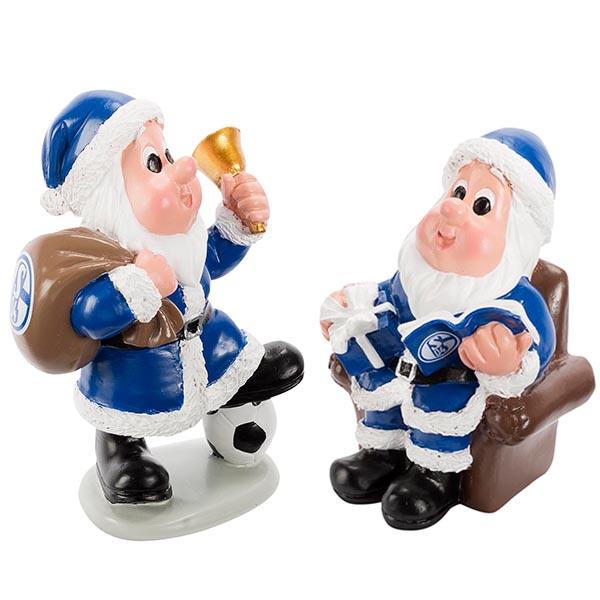 FC Schalke 04 Weihnachtsmänner 2er-Set