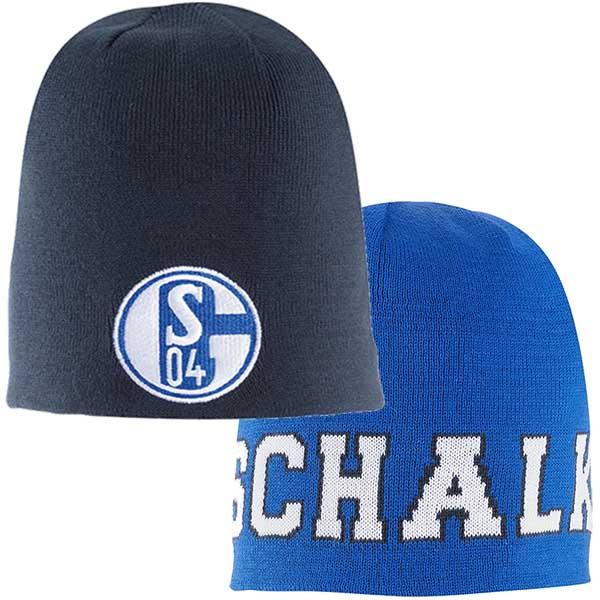 FC Schalke 04 Wendemütze Kinder marine königsblau