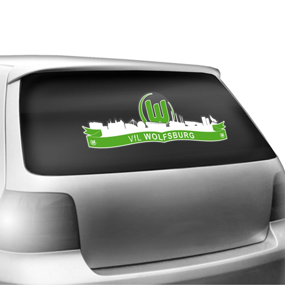 Vfl Wolfsburg Autoaufkleber Skyline