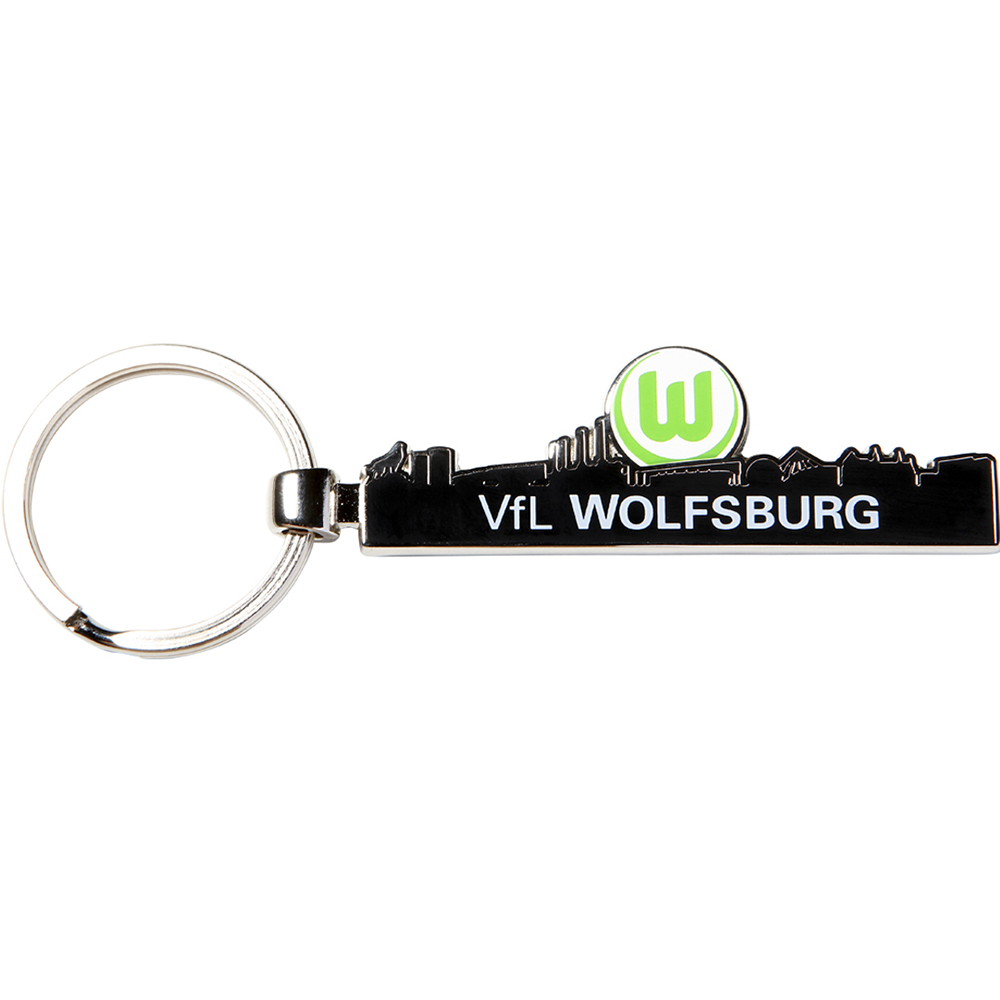 vfl wolfsburg schl sselanh nger skyline vfl wolfsburg logo. Black Bedroom Furniture Sets. Home Design Ideas