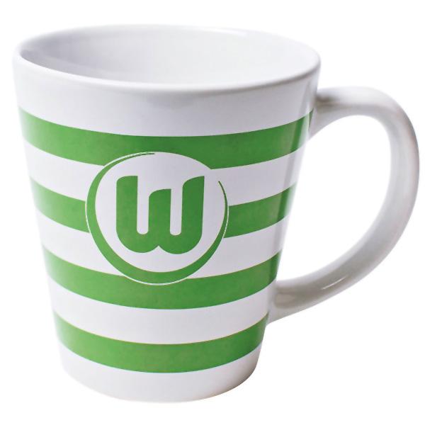 VfL Wolfsburg Tasse Streifen